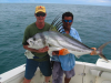 Big Rooster Fish caught by one of Mark\'s clients