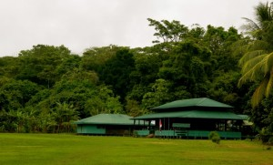 Sirena Ranger Station in Corcovado national Park the most popular location for tourists.